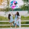 Balon folie rotund Minnie Mouse, diametru 44 cm, heliu sau aer