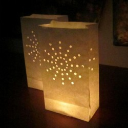 Lampioane decorative model soare, inaltime 25 cm, 5 bucati
