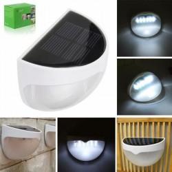 Aplica solara LED cu senzor de miscare, IP65, lumina alb rece, Lixada
