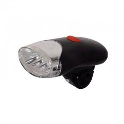 Far lanterna SunBike, 4 Led-uri , 2 moduri iluminare, negru