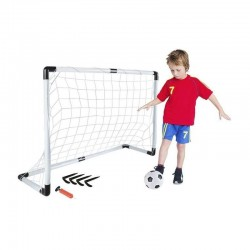 Set fotbal pentru copii, poarta cu plasa, minge, pompa, 120x40x80 cm