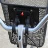 Cos bicicleta universal, montare fata, maner, 33x25x23 cm, metal, negru