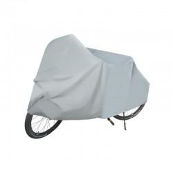 MT MALATEC védőhuzat, kerékpár/motorkerékpár, 200x100x130 cm, vízálló, szürke