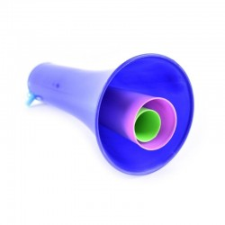 Vuvuzela trompeta mare 130 DB din 3 segmente