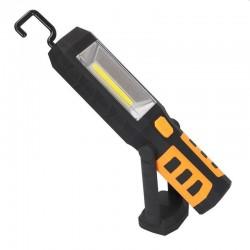 Lanterna universala LED 3W 240 lm baterie incorporata fixare magnet carlig rotativ