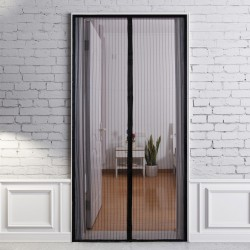 Plasa anti-insecte pentru usa, inchidere magnetica, 220x100 cm, accesorii montare