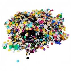 Confetti multicolore, forme si dimensiuni diferite, cantitate 500 g