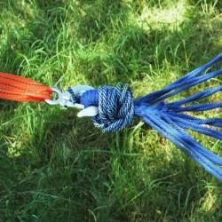 Franghie suspendare hamac, lungime 3m, carlige prindere, rezistenta la apa