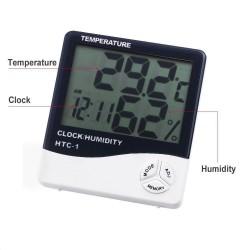 Statie meteo LCD, afisaj ora, temperatura, umiditate, calendar, functie alarma