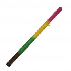 Bat pentru piniata, inaltime 50 cm, diametru 2 cm, multicolor