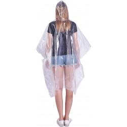 Pelerina de ploaie, marime universala adulti, impermeabila, transparenta