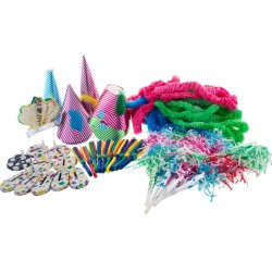 Set 80 piese pentru petrecere, 7 tipuri accesorii, multicolor