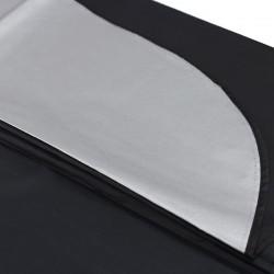 Pelerina pentru coafor, material impermeabil, 140x100 cm, negru