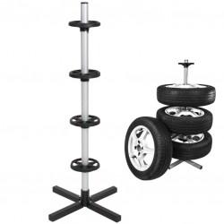 Suport pentru roti, greutate suportata 100 kg, inaltime 107 cm, cadru metal