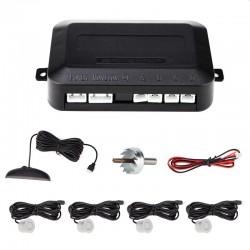 Kit senzori de parcare 4W, display LED, 4 receptori, avertizare sonora