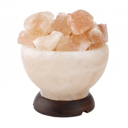 Lampa de sare  - bol cu cristale 2.6 Kg
