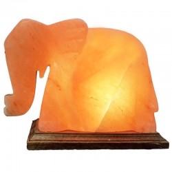 Veioza sare, in forma de elefant, alimentare retea