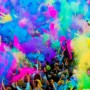 Set 6 culori pudra Neon UV Holi 100gr