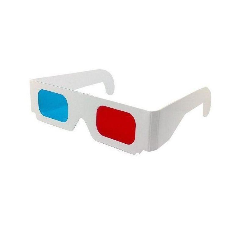 3D vörös cián szemüveg karton kerettel