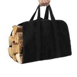 Kaminer Oxford 600D táska, fa szállításához, vízálló, tépőzáras zár, 98x45 cm, legfeljebb 20 kg