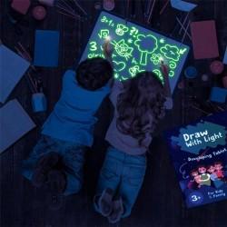 ProCart® Újraírható Foszforeszkáló tábla, zöld színben