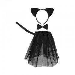Fekete macska - cica jelmez
