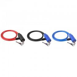 MT MALATEC Kerékpár lopásgátló kábel, kulcsos zár, 66 cm hosszú, szilikon bevonattal