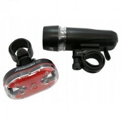 Esperanza kerékpár lámpa készlet, LED, vízálló, univerzális modell