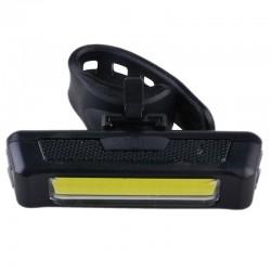 Esperanza COB LED kerékpár lámpa, 100 lm, USB töltés, 3 világítási mód, kormányra szerelhető