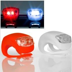 Esperanza EOT011 ALYA fehér-piros kerékpár világítás