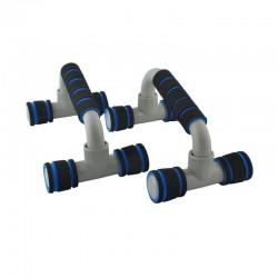 MT MALATEC  fekvőtámasz keret párban, legfeljebb 200 kg, csúszásgátló felülettel, 2 db készlet
