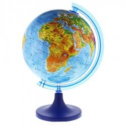 PROCART Földgömb 25 cm, fizikai térkép, meridián ív, forgó, állvány