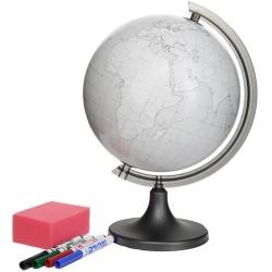 ProCart® Földgömb, 4 marker, szivacs, testreszabható, átmérője 25cm