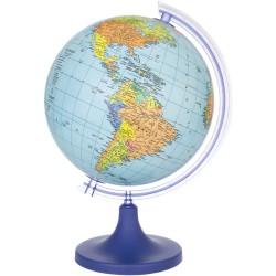 ProCart® Földrajzi földgömb, politikai térképképezés, átmérő 25 cm, forgó, meridián