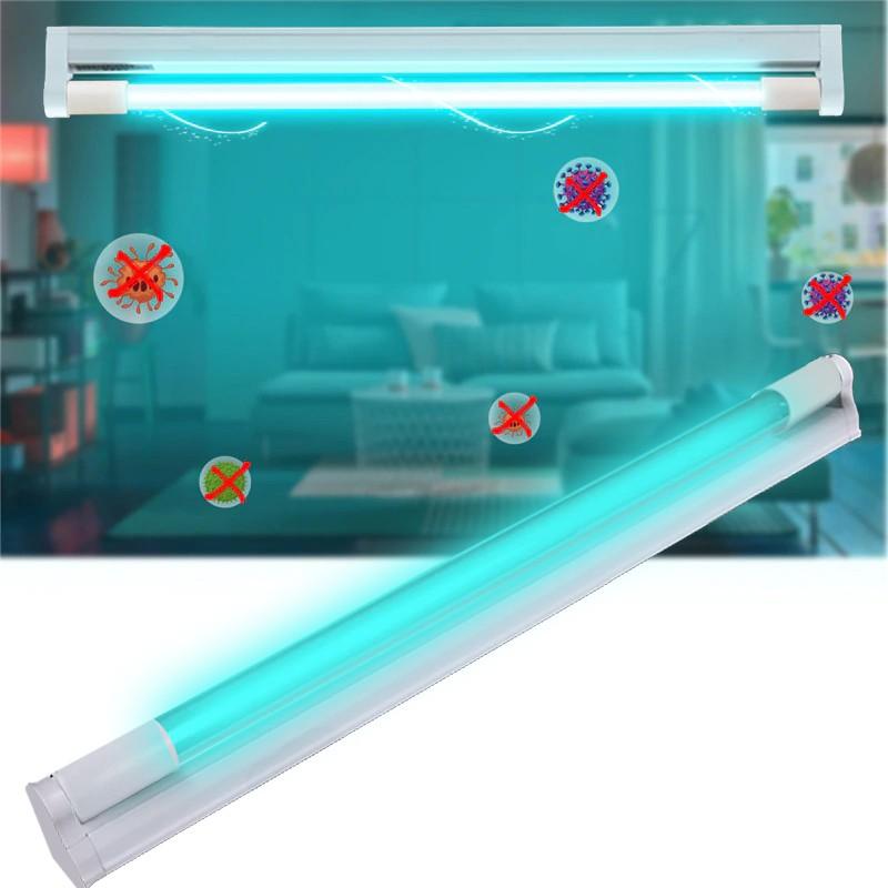 ProCart® UV-C baktériumölő lámpa, 20 W, kristály kvarc üvegcső sterilizálására, 20 m² fertőtlenítéshez