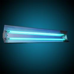 ProCart® állítható UVC baktériumölő lámpa reflektorral, 2x55W, sterilizáláshoz, 60 nm, IP20