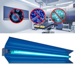 ProCart® állítható UVC baktériumölő lámpa, 30W ,140 fokos forgatással, Osram csővel, falra szerelhető