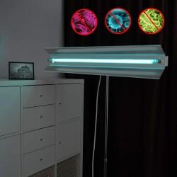 ProCart® baktériumölő lámpa, UVC 30W, irányítható, hordozható teleszkópos állvánnyal, sterilizálás 30 nm, reflektor