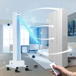 ProCart® Professzionális UV-C baktériumölő lámpa, 100W, hordozható, 85 nm-en, mozgatható karral, időzítővel, távirányítóval