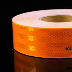 ProCart® rugalmas fényvisszaverő szalag, narancssárga, öntapadós, 5 cm x 1 m, vízálló