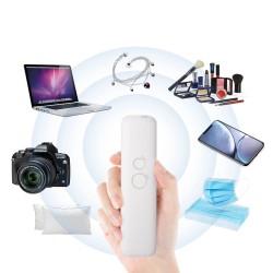 ProCart® Hordozható UVC 6 LED-es sterilizáló lámpa, pálca típusú, tárgyakhoz, időzítő, újratölthető USB, 400mAh, 15x3,8 cm