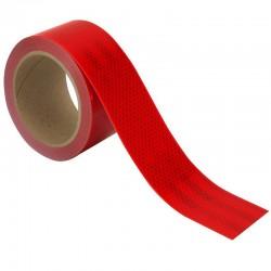 ProCart® rugalmas fényvisszaverő szalag, piros, öntapadós, 5 cm x 1 m, vízálló