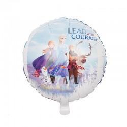 ProCart® Frozen Elsa Léggömb, alumínium fólia, átmérője 45 cm, levegő vagy hélium