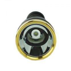 ProCart® SMD LED zseblámpa, újratölthető 8800 mAh, 500 m sugarú, 3 világítási mód, autós töltő, alumínium
