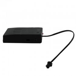 ProCart® Hordozható El Wire vezetékes inverter, 0-20 méter, 3 világítási mód, akkumulátor töltöttsége