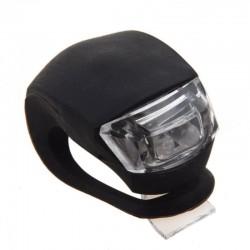 LED kerékpár biztonsági lámpák, 3 világítási mód, szilikon, 2 db