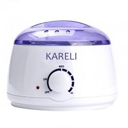 Kareli elektromos gyantamelegítő, 100 W-os, termosztáttal, kapacitás 400 ml, dekanter