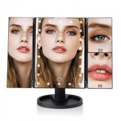 22 LED-es kozmetikai tükör