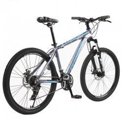 Phoenix MTB kerékpár, alumínium keret, 26 hüvelykes kerekek, 21 sebesség, Shimano váltó, villás felfüggesztés, tárcsafékek