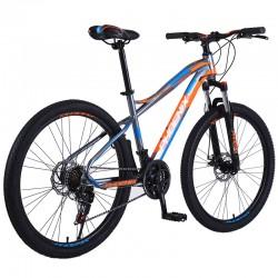 Phoenix Mountain Bike kerékpár, acélkeret, 26 hüvelykes kerekek, 21 sebesség, Shimano váltó, villás felfüggesztés, tárcsafék